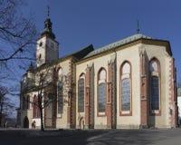 Chiesa di parrocchia cattolica del presupposto di vergine Maria Immagine Stock