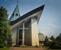 Chiesa di parrocchia della nostra signora Immaculate Fotografia Stock