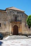 Chiesa di parrocchia di Alora, Spagna Fotografie Stock