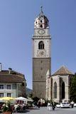 Chiesa di parrocchia di Merano Fotografia Stock Libera da Diritti