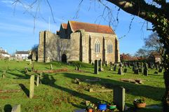 Chiesa di parrocchia di St Thomas il martire Winchelsea Immagine Stock