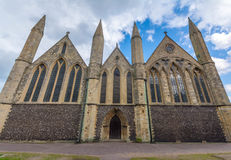 Chiesa di parrocchia inglese a Great Yarmouth in Inghilterra Fotografia Stock Libera da Diritti