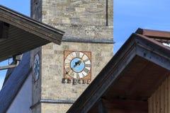 Chiesa di parrocchia di Maria Alm Immagini Stock
