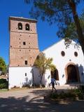 Chiesa di parrocchia a Mijas una di villaggi 'bianchi' più bei di Andalusia Immagini Stock