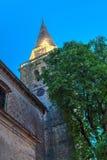 Chiesa di parrocchia San Vito, Modesto e Crescenzia, Groznjan Immagine Stock