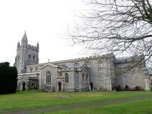 Chiesa di parrocchia di St Mary in vecchio Amersham fotografia stock libera da diritti