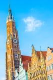 Chiesa di peter e di St Paul in Landshut immagini stock