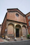 Chiesa di Piacenza. L'Emilia Romagna Fotografie Stock Libere da Diritti