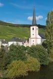 Chiesa di Piesporter Fotografie Stock