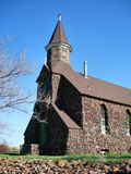 Chiesa di pietra Fotografia Stock