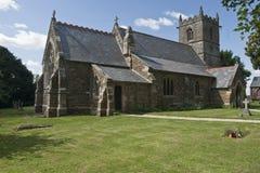 Chiesa di pietra del ferro, Le-Wold di Normanby-, Fotografia Stock Libera da Diritti