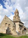 Chiesa di pietra di Densus - Romania Fotografie Stock