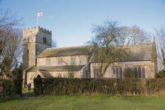 Chiesa di pietra graziosa in Inghilterra Immagine Stock