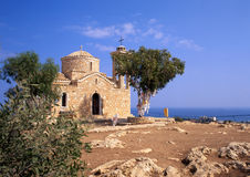Chiesa di pietra rurale Fotografia Stock Libera da Diritti