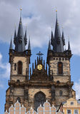 Chiesa di Praga Tyn Fotografia Stock Libera da Diritti