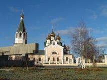 Chiesa di Preobrajensky Fotografia Stock