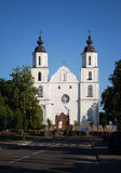 Chiesa di presupposto del ` s della st vergine Maria, Zarasai fotografie stock