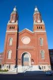 Chiesa di presupposto, Siracusa, NY fotografie stock