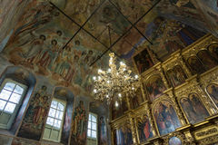 Chiesa di principe Demitry il martire del XVII secolo, Uglic, Russia Fotografia Stock Libera da Diritti