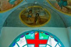 Chiesa di principe Demitry il martire del XVII secolo, Uglic, Russia Immagini Stock Libere da Diritti