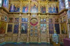 Chiesa di principe Demitry il martire del XVII secolo, Uglic, Russia Immagine Stock Libera da Diritti