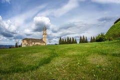 Chiesa di Prunetto - Langhe - Piemonte Italia Fotografia Stock Libera da Diritti