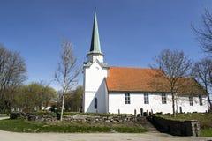Chiesa di Rakkestad Fotografia Stock