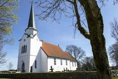 Chiesa di Rakkestad Fotografia Stock Libera da Diritti