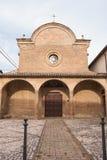 Chiesa di rinascita di Santa Illuminata di Montefalco immagine stock