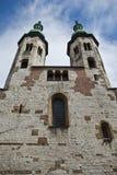 Chiesa di Romanesque, Cracovia Polonia Immagine Stock Libera da Diritti