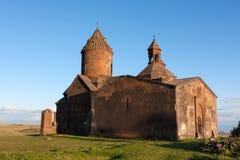 Chiesa di Saghmosavank da da parte Fotografia Stock