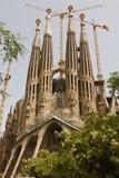 Chiesa di Sagrada Familia Immagine Stock Libera da Diritti