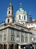 Chiesa di Saint Lawrence, Praga, repubblica Ceca Fotografie Stock