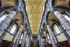 Chiesa di Saint Loup a Namur, Belgio immagini stock libere da diritti