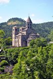 Chiesa di Saint Nectaire fotografia stock libera da diritti
