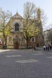 Chiesa di Sainte Marie-Madeleine a Bruxelles immagini stock libere da diritti