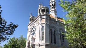 Chiesa di Salette della La video d archivio
