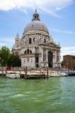 Chiesa di saluto di della della Santa Maria, Venezia Immagine Stock