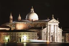 Chiesa di saluto di della della Santa Maria a Venezia Immagini Stock