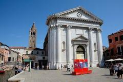 Chiesa di San Barnaba church in Venice, Italy Royalty Free Stock Image