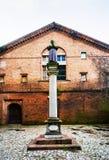 Chiesa Di San Benedetto en Ferrara, Italia Foto de archivo