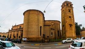 Chiesa Di San Benedetto i Ferrara, Italien Royaltyfria Bilder