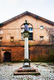 Chiesa Di San Benedetto i Ferrara, Italien Arkivfoto