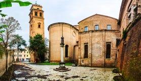 Chiesa Di San Benedetto i Ferrara, Italien Fotografering för Bildbyråer