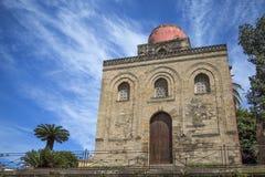 Chiesa di San Cataldo in Palermo. View at Chiesa di San Cataldo in Palermo Stock Images