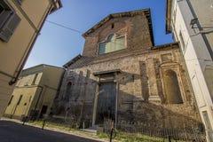 Chiesa di San Cristoforo, Lodi, Italien Arkivbild