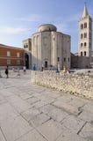 Chiesa di San Donato e campanile della cattedrale Dalmazia zadar Croazia Europa Fotografie Stock