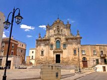 Chiesa di San Francesco dAssisi, Matera Stock Image