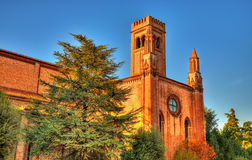 Chiesa di San Francesco in Mantua Royalty Free Stock Images