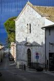 Chiesa di San Francesco nella città di Montefalco, Italia centrale fotografie stock libere da diritti